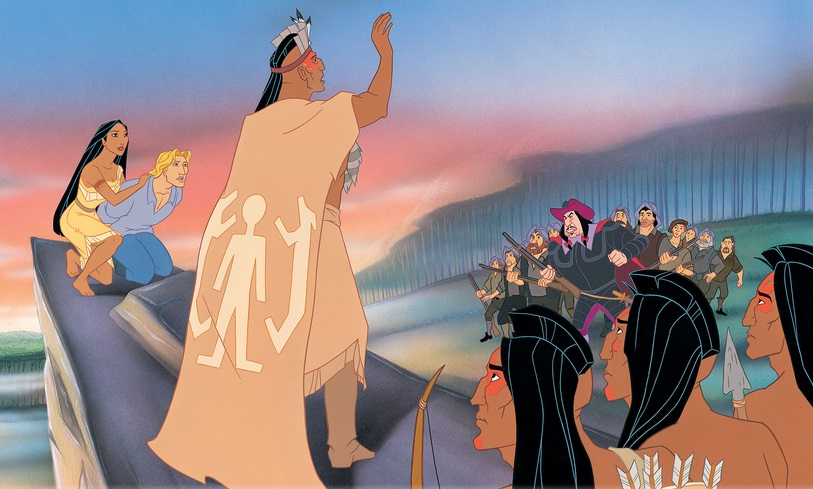 an analysis of the truth behind the story of pocahontas The realistic facts and details of smith's account qualify its genre as history, but smith popularizes the story by telling it in the genre of male-romance or adventure, with possible undertones of woman's romance or a love story via his relation with pocahontas.